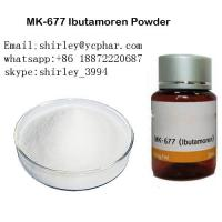 Buy cheap 99% Purity MK-677 Sarms Raw Powder White Color Pharmaceutical Grade from wholesalers
