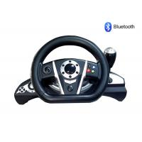 Wholesale Bluetooth PC / PS3 Racing Video Game Steering Wheel With Rubber Hand Grip from china suppliers