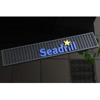 Wholesale Rectangle Eco Friendly Seadrill Bar Runner Mats , Rubber Bar Spill Mat from china suppliers