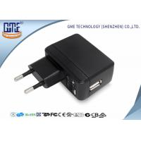 Wholesale Phone Charging 2 Round PIN 5V 2A Single Usb Plug Adapter With Energy Class VI from china suppliers