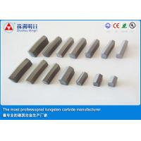 China Ground Cemented Carbide Shield Cutter TipesFor Rock Drilling on sale