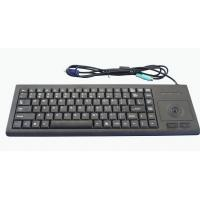 Buy cheap Strengthening PC peripheral black ABS plastic medical keyboard with roller trackball from Wholesalers