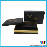 Wholesale Persional Customized Foiled Printed Paper Packaging Boxes with Devider from china suppliers