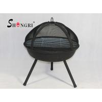 Wholesale bbq grill fire pit with stainless steel grate from china suppliers
