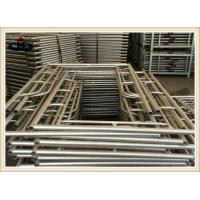 Wholesale Q235 Building Frame scaffold , Walk through frame , H frame , Ladder frame , Mason frame scaffolding from china suppliers