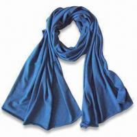 China Scarf, Made of Cotton Yarn, Various Colors are Available on sale