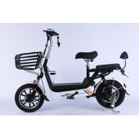 China 14 Inch Folding Electric Bike With Hidden Lead Acid Battery And Front Disc on sale