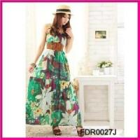 Wholesale 2012 Fashion Chiffon Printed Beach Dresses for Ladies (FDR0027J) from china suppliers