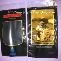 Wholesale Plastic Printed PET + LDPE Cigar Fresh  Packaging Bags with Sponge with humidified system inside from china suppliers