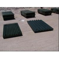 Quality Cr-Mo Alloy Steel Crusher Wear Parts Jaw Plates For Jaw Crushers for sale