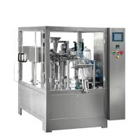 China Liquid packing machine Doy pack water pouch packing machine price on sale