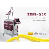 Wholesale Safe Laser Tattoo Removal Device , Yag Tattoo Removal Machines 800mj Pulse Energy from china suppliers
