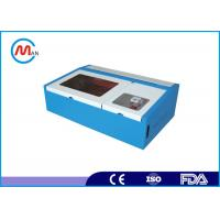 60w Co2 Portable Laser Engraving Machine , Water Cooling Glass Laser Engraver Machine