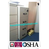 Buy cheap 4 Drawer Fire Safe File Cabinet , Fire Resistant File