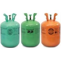 China r22 refrigerant for auto air conditioners high purity in 30lbs/25Lbs refillable cylinder on sale