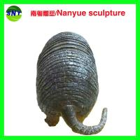 Wholesale life size animal fiberglass statue large  pangolin model as decoration statue in garden from china suppliers