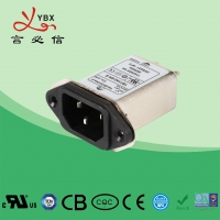Wholesale Power Entry Module EMI RFI Filter Inlet 1-10A Free Maintenance Within Six Years from china suppliers