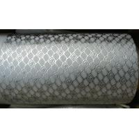 Wholesale Alloy Steel Embossing Roller For Paper , Tissue , Foil And Leather With Different Pattern from china suppliers