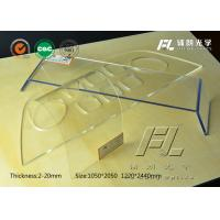 Wholesale Lightweight Clear PMMA Acrylic Sheet 6mm Thick Anti Reflective Performance from china suppliers