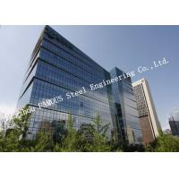 Wholesale Aluminum Frame Insulation Double Glass Curtain Wall For Commercial Office Building from china suppliers