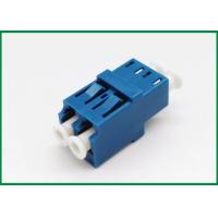 Buy cheap LC/UPC Duplex Fiber Optic Adaptor Without Metal , Network Equipment Optical Adapter from wholesalers
