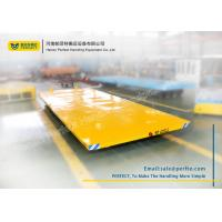 Quality Rail Bespoke Ramp Material Transfer Cart for In-plant Cargoes Handling for sale