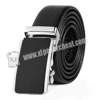 Buy cheap Black Leather Belt Camera Poker Scanner For Invisible Bar Codes Marked Playing Cards from wholesalers