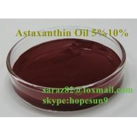 China astaxanthin oil/astaxanthin oleoresin 5%10%20%HPLC/UV on sale