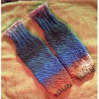 Wholesale Anti - Pilling Nlue Knitted Leg Warmer For Women , Girls from china suppliers