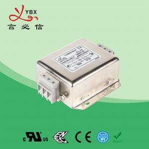 Wholesale EMC Absorber Three Phase Filter 10A 50Hz 60Hz For Motor Drives from china suppliers