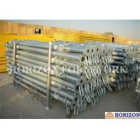 High Loading Capacity Scaffolding Steel Prop Q235 Steel Pipe Zinc Plated Surface