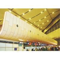 Buy cheap Building facades material Aluminium Honeycomb Panel windproof for museum opera house from Wholesalers