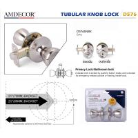 China Modern Style Door Lock Hardware Accessories Cylindrical Rotary Knob on sale