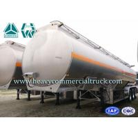 Quality Dongfeng Aluminum Alloy Diesel Oil Tank Tri Axle Trailer 180 HP 12R22.5 for sale