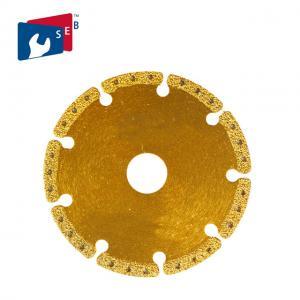 Wholesale Multi Purpose Metal Cutting Diamond Blade , Aluminum Cast Iron Saw Blade from china suppliers