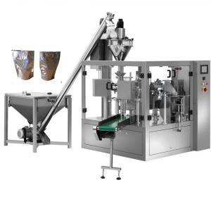 Wholesale Automatic powder dispensing machine milk pouch packing machine,Powder filler Servo motor milk pouch packing machine from china suppliers