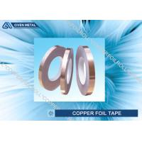 China Self Adhesive EMI Shielding Copper Foil Tape With ROHS , SGS , CTI Certificate on sale