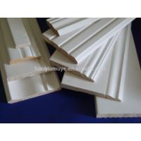 Lacquered mdf skirting and crown mouldings for decoration