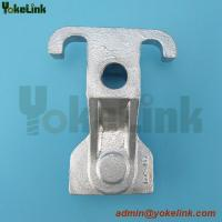 Ductile iron combination type guy attachments for pole line fitting