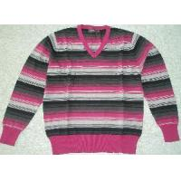 Buy cheap Men′s Knitted Sweater, Cotton Pullover, Stripe Sweate (Sfy-A075) from wholesalers