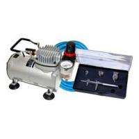 Wholesale Professional Airbrush Tattoo Kit Machine with Single Cylinder Piston Air Compressor 1/6HP from china suppliers