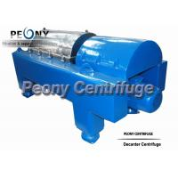 Wholesale PLC Control Water Sludge Decanter Centrifuge Continuous Centrifuge With SKF Bearing from china suppliers