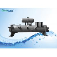 Wholesale Flooded Type Water Chiller Finned Tube Heat Exchanger Double Circuits from china suppliers