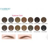 Wholesale Pure Organic Permanent Makeup Ink Pigment For Eyebrows 14 Colors Long Lasting from china suppliers