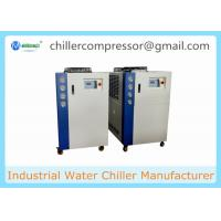 Quality 5HP-20HP Scroll Type Air Cooled Water Chiller for Milk Cooling for sale