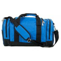 Wholesale Blue High End Mens Large Travel Duffel Bags Durable Custom Made from china suppliers