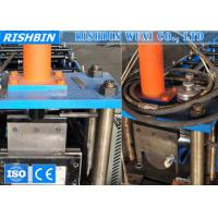Wholesale 220V Half Round Pipe Roll Forming Machine for Seamless Gutter from china suppliers