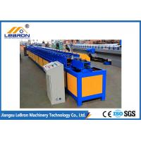 China PLC Control Full Automatic Rolling Shutter Door T Profile Machine GI and GL material on sale