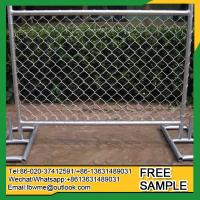 Buy cheap StCharles self supporting fence panel free standing mesh fence from wholesalers
