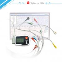 Wholesale White Automatic Ecg Holter Monitor Software‎ With Lcd Display , Battery Power from china suppliers